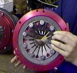 PICTURE 2 - McCLOED CLUTCH COVER (diaphram)